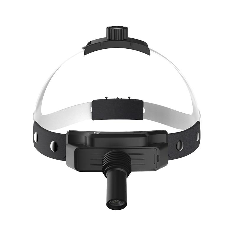 LED Headlight Denta Medical High Intensity Removable Built-in Battery Lamp Dentistry Operation Helmet Headlamp(TD-N02B-F) enlarge