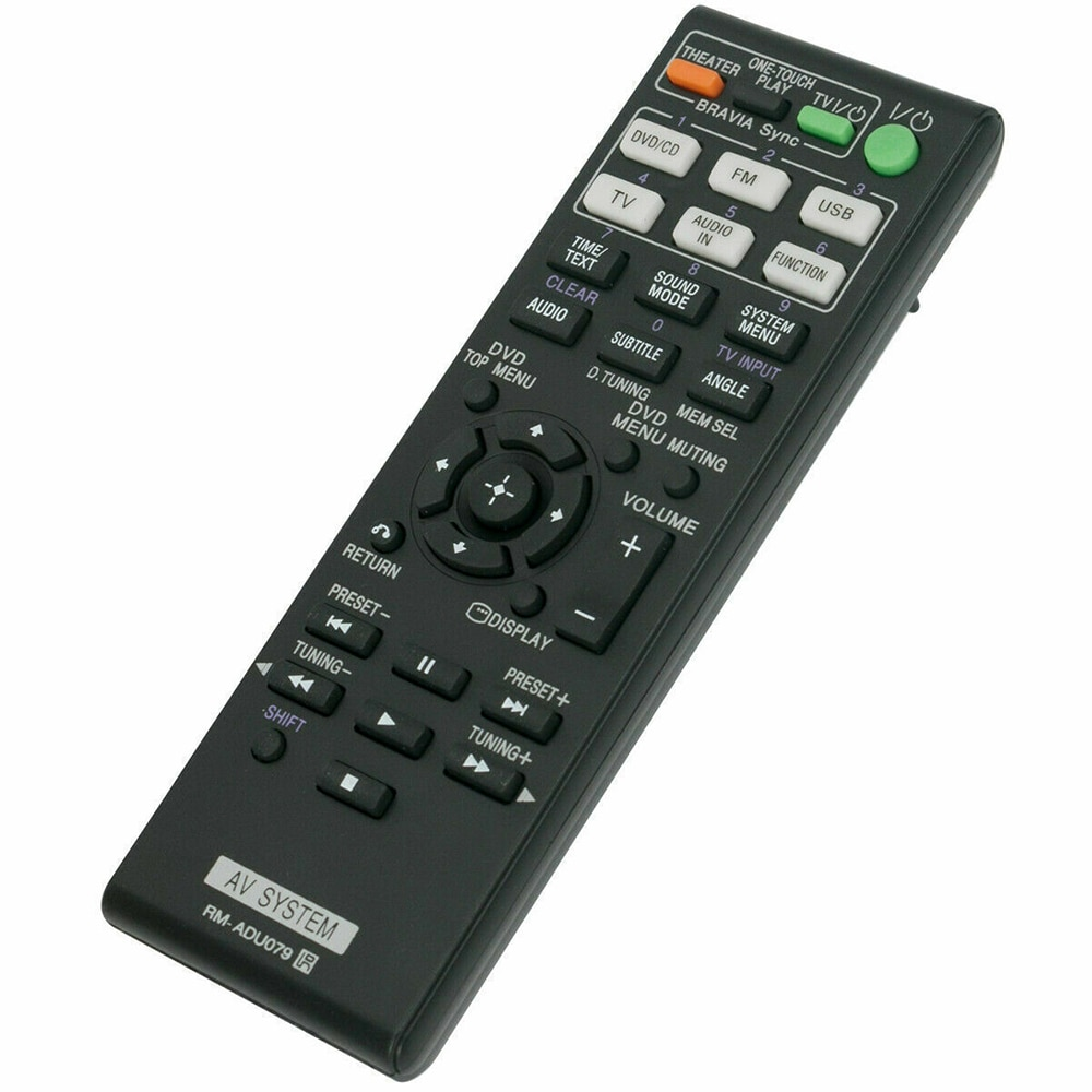 New Replaced Remote Control For SONY DAV-DZ170 DAV-DZ171 DAV-DZ175 DAV-TZ210 DAV-TZ230 Home Theater