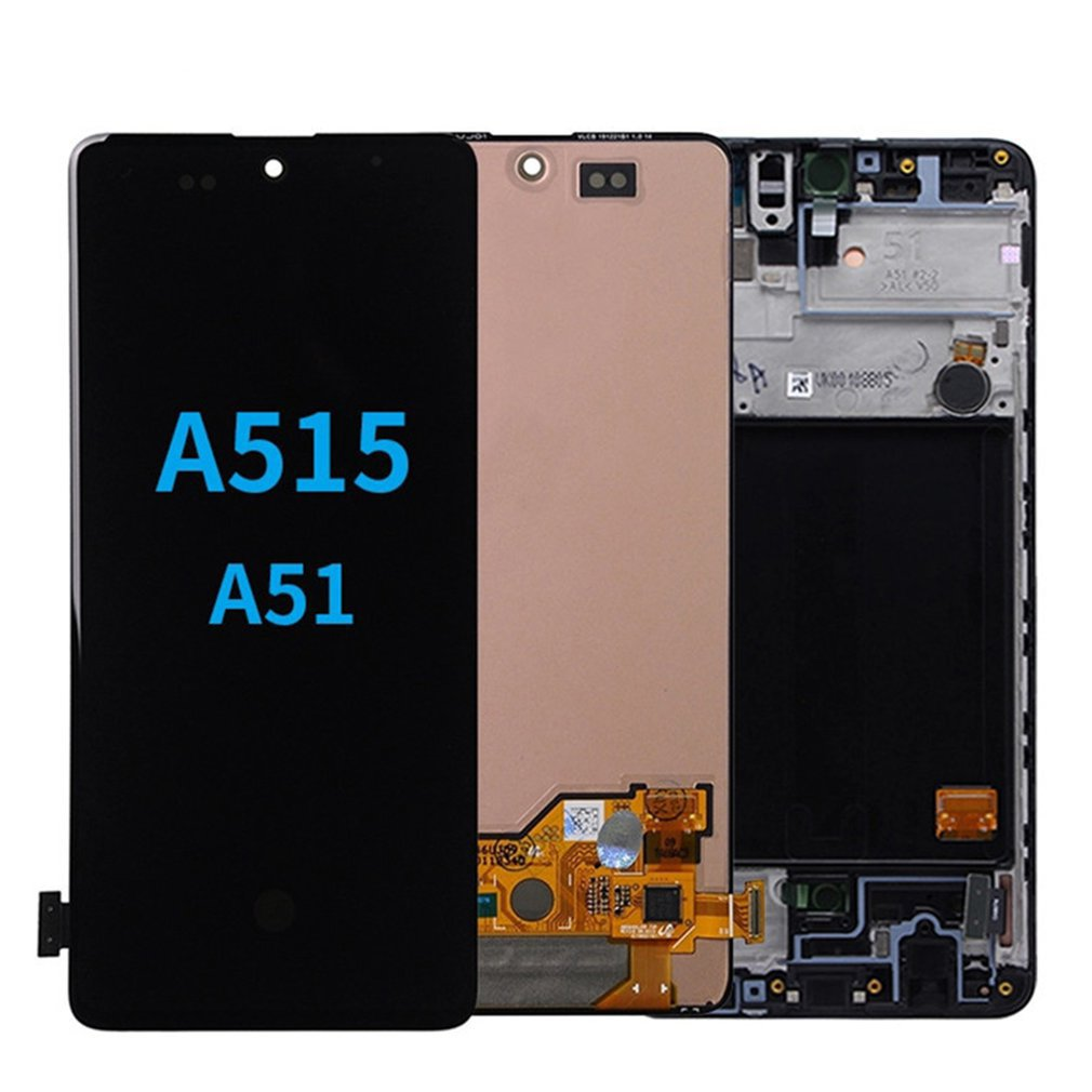 Display Touch Screen Digitizer Assembly with Tools Monolithic Fingerprint Waterproof Glue for Samsung A51 enlarge