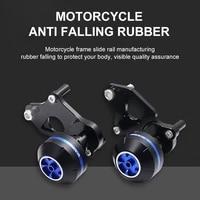 motorcycle anti drop rubber anti falling suitable suzuki gsxr600 750 06 16 k6 k8 k1 gear slider collision protector