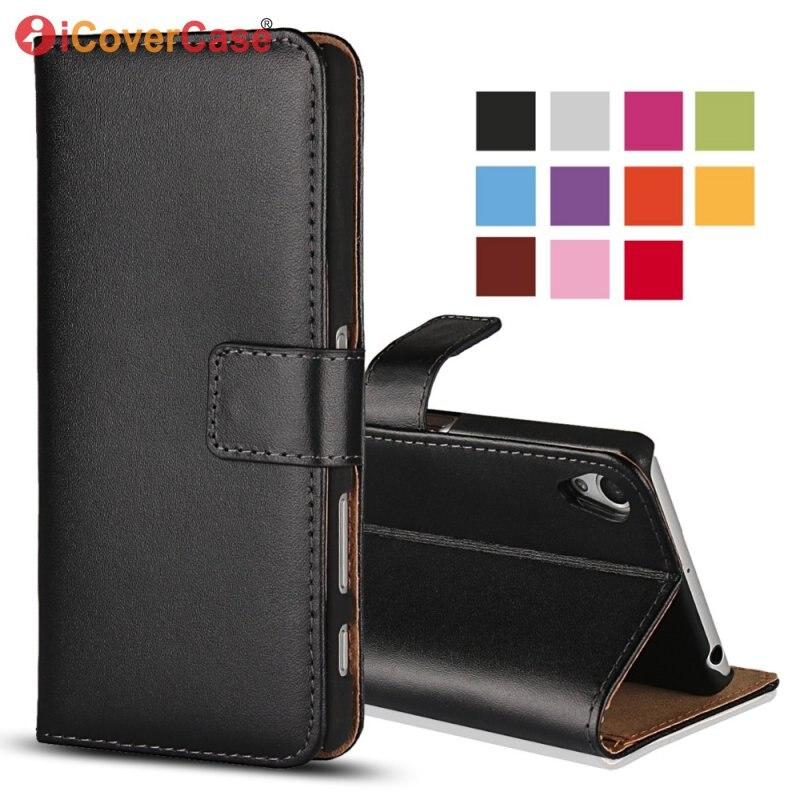 Чехол-книжка для Sony Xperia Z Ultra Z C6603 Z1 Z2 Z3 Z4 Z5 X Compact XZ XZ1 XZ2 Premium XZ3, кожаный чехол-бумажник, чехол