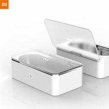En stock nouveau Xiaomi MIjia Youpin EUE nettoyeur à ultrasons blanc 20W haute puissance ultrasons cavitation nettoyage quatre vitesses synchronisation