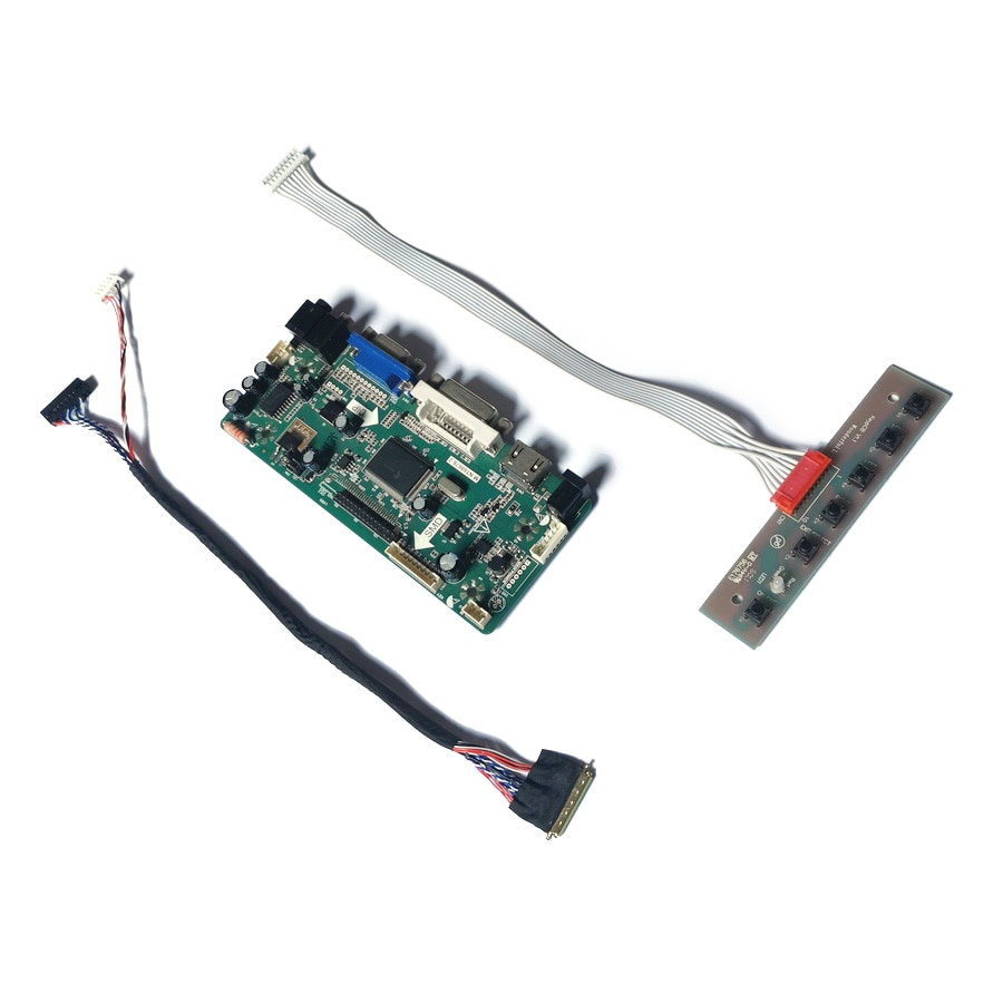 صالح LTN156AT02-A02/A04/D01/D04/D09 40 دبوس LVDS مصفوفة 60Hz WLED 1366*768 VGA DVI M.NT68676 رصد لوحة تحكم لتقوم بها بنفسك عدة