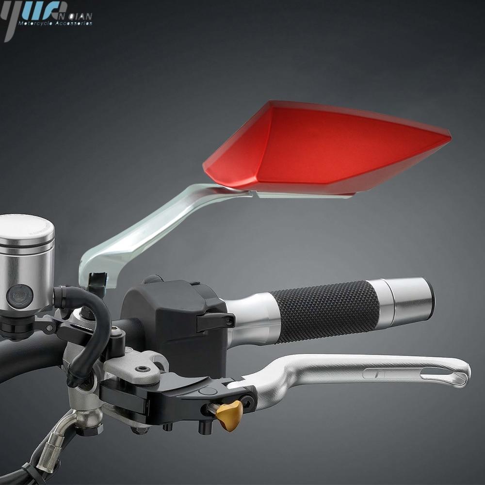 Accesorios para motos, espejos retrovisores de aluminio CNC para motos Suzuki Burgman 200 400 650 DR-Z125 DR-Z125L RMX450Z