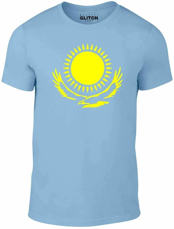 Camiseta internacional de Kazakhstan-Camiseta de apoyo a tu país Bandera deportiva Borat