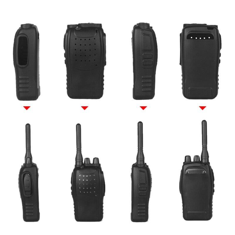2 uds cubierta protectora de silicona para Baofeng BF-888s, Radio bidireccional, Walkie Talkie LX9A