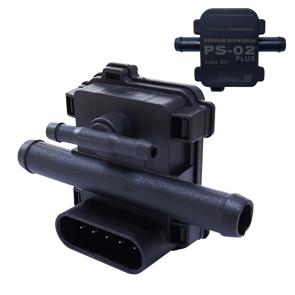 20 pçs/lote 5 pinos mapa sensor PS-02 mais sensor de pressão gás para lpg cng kit conversão para carros