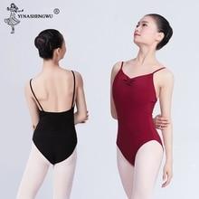 Adulte une pièce Ballet justaucorps robe femmes dames sans manches gymnastique Ballet danse justaucorps ballerine Performance formation costume