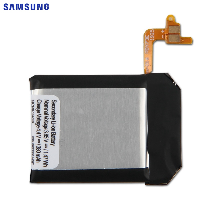 SAMSUNG Original Band And Battery EB-BR760ABE For Samsung Gear S3 Frontier Classic Smart Watch SM-R760 SM-R770 SM-R765 380mAh enlarge