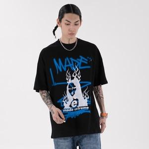 2021 Men Clothing Graphic T Shirts Alternative Clothing Mall GothWomen's Short Sleeve T-Shirt Harajuku Hip hop Top 2135
