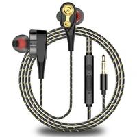hifi monitor stereo bass earphone in ear sports headset earbuds with mic for iphone xiaomi huawei samsung 3 5mm earphones
