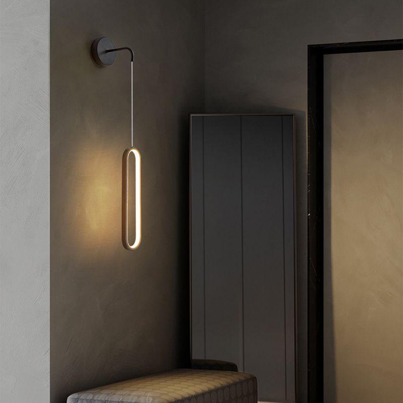 بسيطة وحدة إضاءة Led جداريّة ضوء الشمال الجدار مصباح الحديثة الشمعدان للمنزل غرفة إضاءة داخلية AC110V AC220V غرفة المعيشة السرير أضواء
