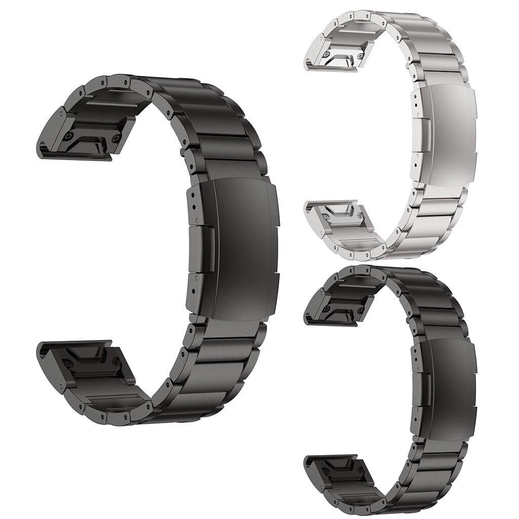 Correa de aleación de titanio 2020 correas de repuesto para GARMIN Forerunner 945 correa de reloj 14-24mm #40
