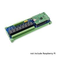 Плата-удлинитель Raspberry Pi 8 для умного дома, плата со светодиодным индисветодиодный тором для Raspberry Pi 4 Model B/3B +/3B