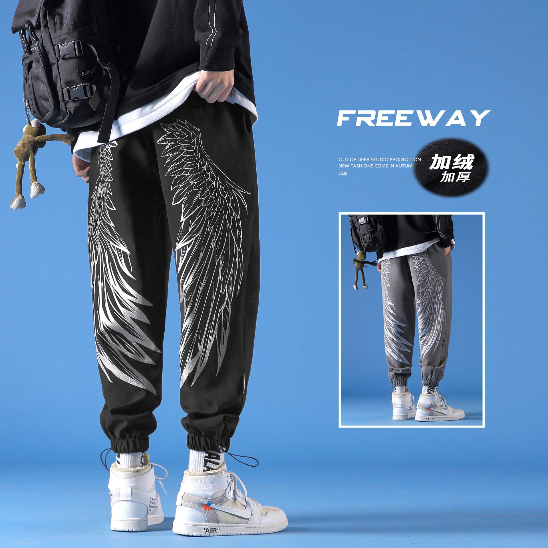 Брюки Для мужчин s брюки Для мужчин джоггеры Японская уличная одежда Для мужчин s Одежда в стиле хип-хоп