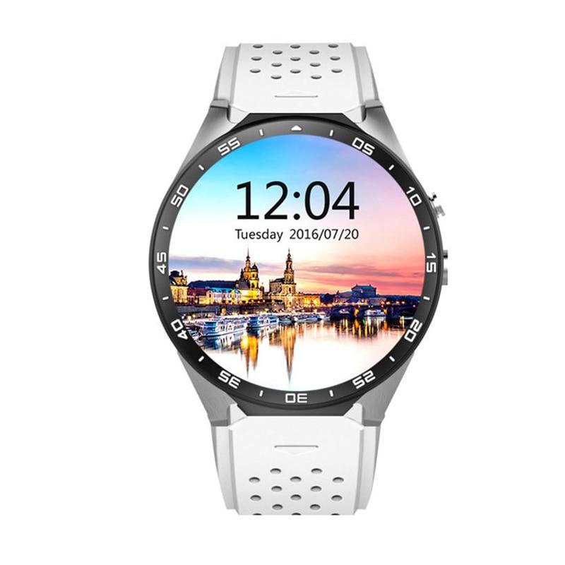 Reloj inteligente para hombres 1GB + 16GB Bluetooth 4,0 WIFI 3G reloj inteligente para hombres soporte para Google store voz GPS Maps Cámara reloj