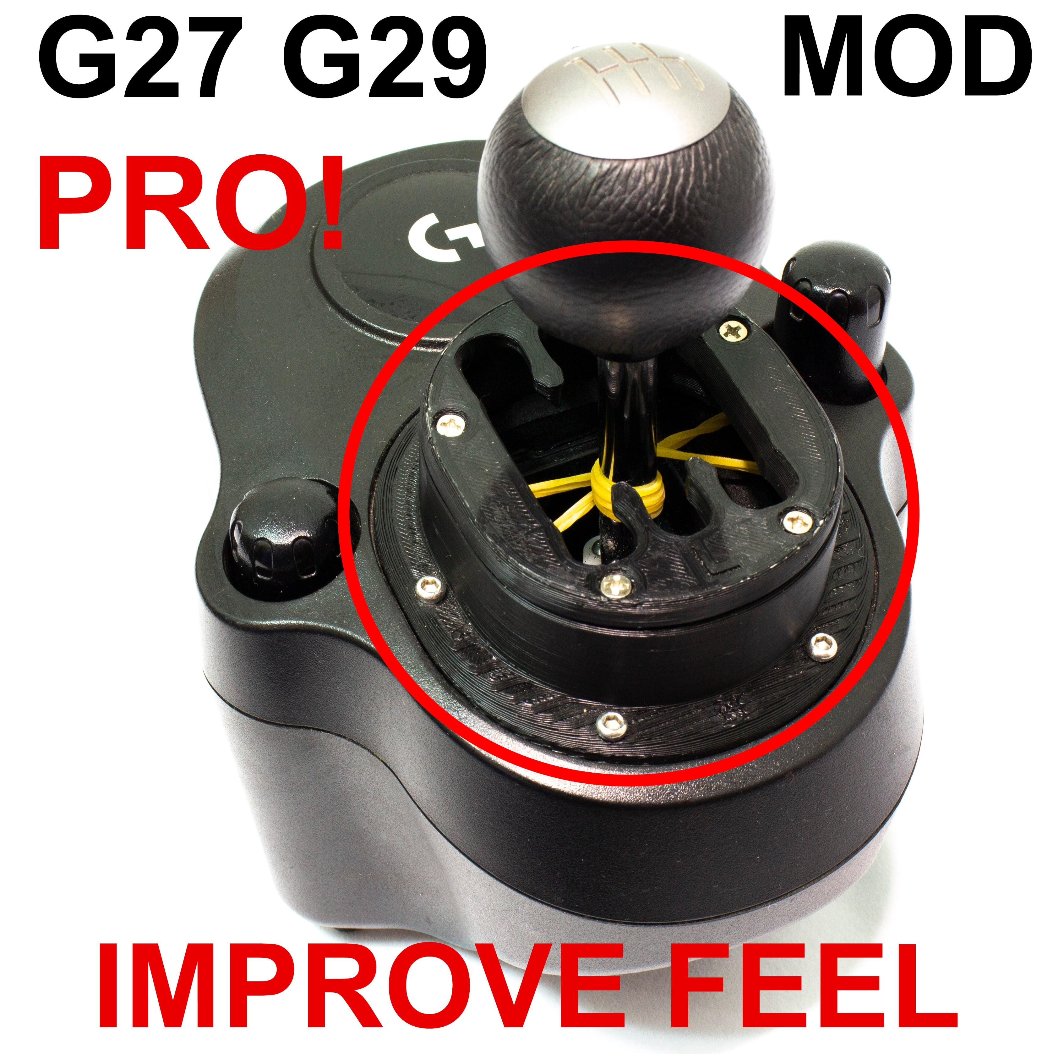 ل لوجيتك G27 لوجيتك G29 G25 G920 G923 والعتاد شيفتر وزارة الدفاع تحسين يشعر SIMRACING سيم سباق