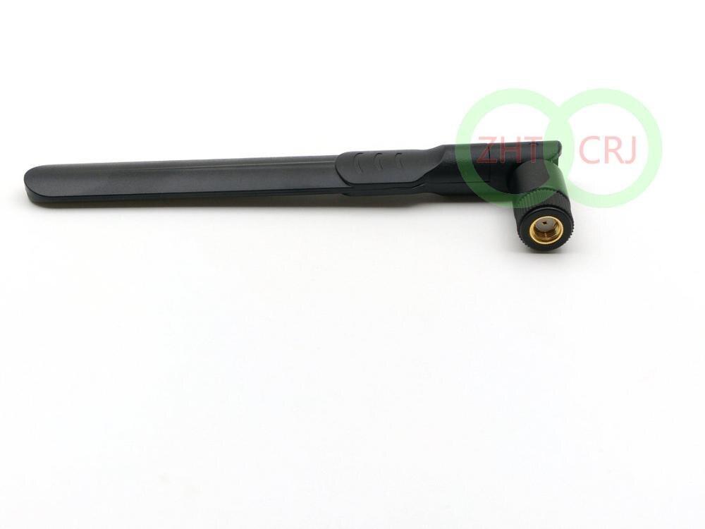 8dBi 2.4GHz - 5.8GHz ثنائي الموجات اللاسلكية واي فاي راوتر هوائي RP-SMA جاك الذكور جديد