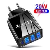 Зарядное устройство PD с USB-портом и поддержкой быстрой зарядки, 20 Вт