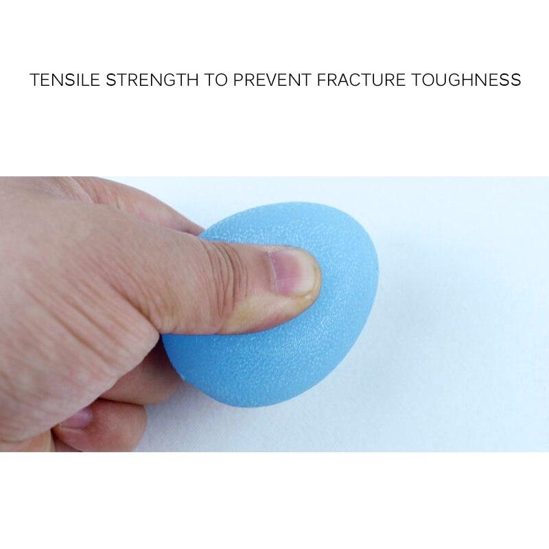 Aperto da Mão Do Ovo Egg Massagem Leve Para A Mão de Segurança Treinamento de Reabilitação Física de Fitness Exercício Bola Bola De Silicone Mão