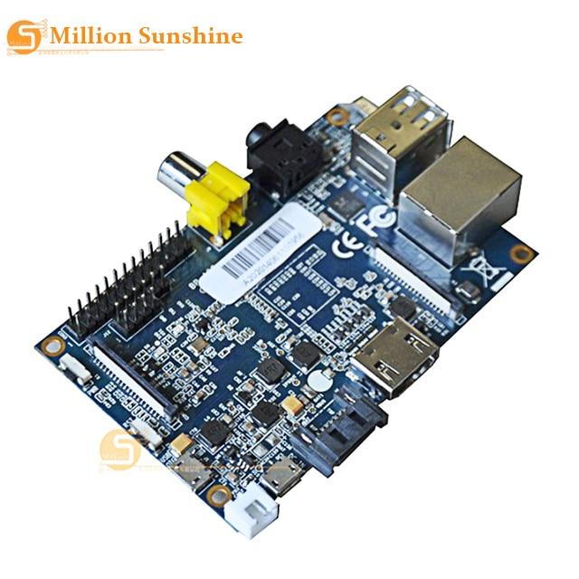 الأصلي BPI-M1 الموز Pi A20 ثنائي النواة 1GB RAM مجلس التنمية مفتوحة المصدر سينغل مجلس الكمبيوتر شحن مجاني
