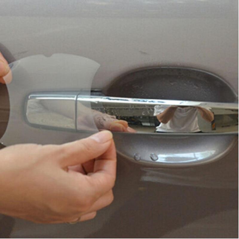 4 pçs alça do carro etiqueta de proteção para honda dio kia sorento camry 2012 lexus bmw e60 toyota camry 2012 para honda accord 2016