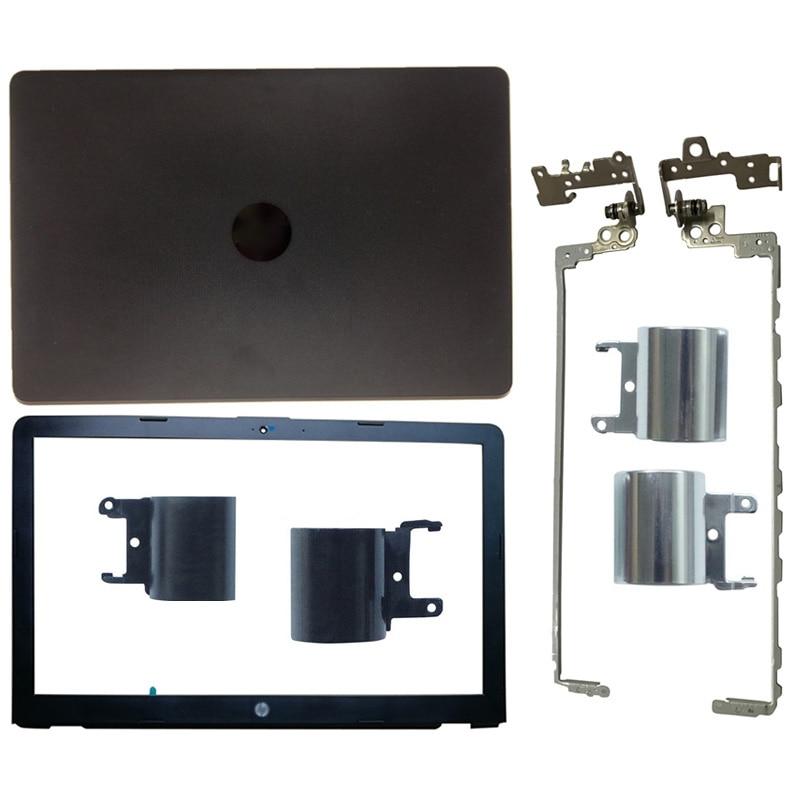 NEW Laptop For HP Pavilion 15-BS 15T-BS 15-BW 15Z-BW 250 G6 255 G6 LCD Back Cover/Front Bezel/Hinges/Hinges Cover 924899-001 new for hp 15 bs 15 br 15 bw 15t br 15 bs 15z bw laptop lcd back cover front bezel hinges palmrest bottom case 924899 001