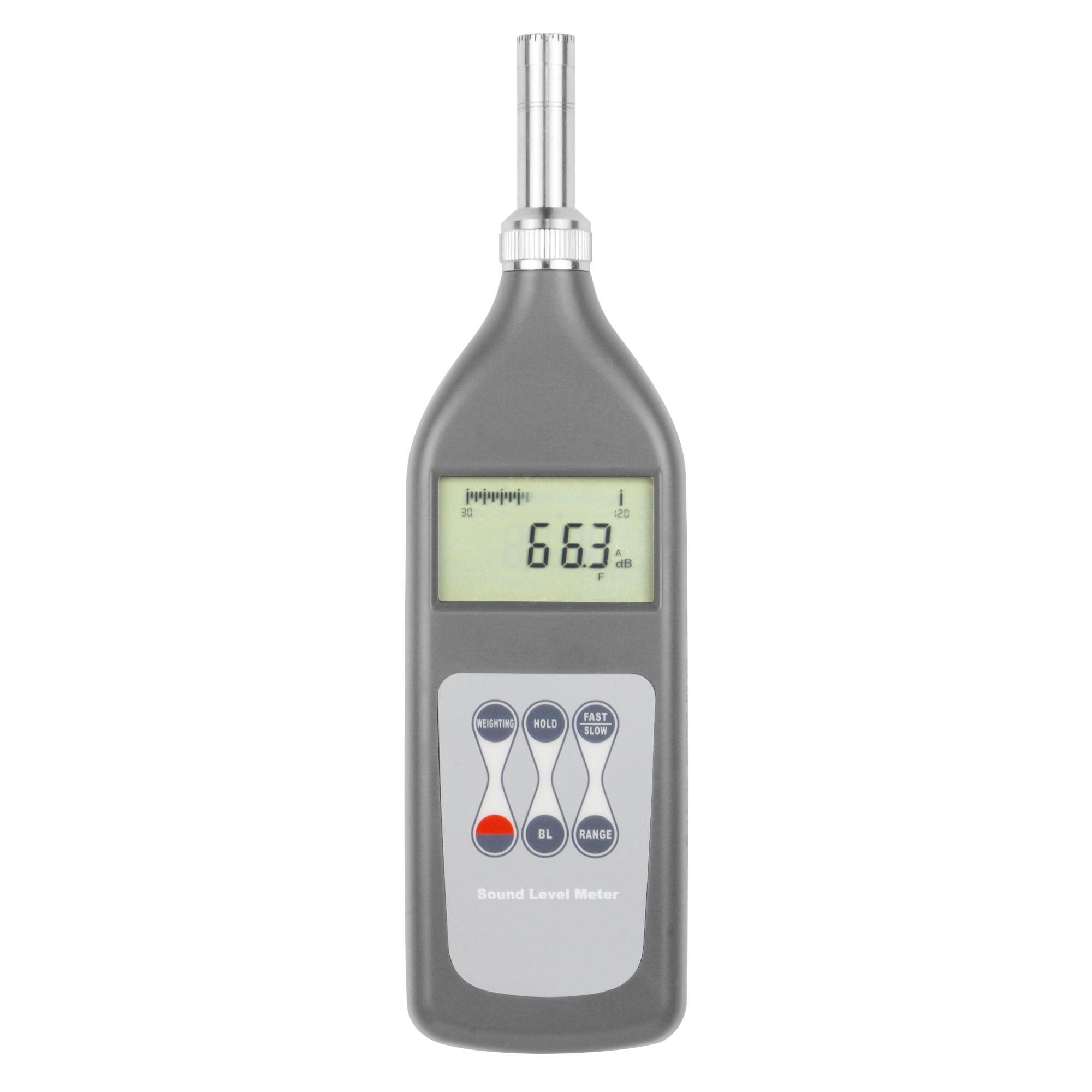 LANDTEK High-precision Accurate for laboratory Sound Level Meter SL-5868N Range 25dB~130dB (A)