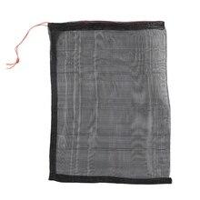 100Pcs / Lot Garden Vegetable Grape Dragon Fruit Protection Bag Bag Agricultural Pest Control Anti-Bird Black Mesh Bag