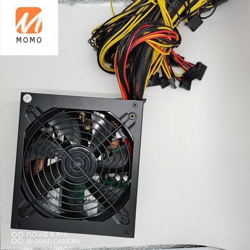 TZFactory السعر 110 فولت-230 فولت 1800 واط ATX تحويل التيار الكهربائي PSU 80 الذهب زائد ل 8 بطاقة جرافيكس التعدين تلاعب التعدين جاهزة للشحن