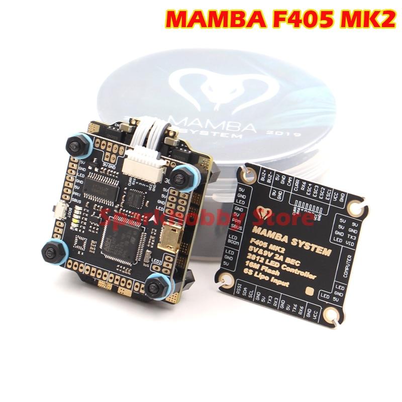 Diatone MAMBA F405 MK2 Betaflight controlador de vuelo F40 40A 3-6S DSHOT600 FPV Racing Drone Racer sin escobillas ESC