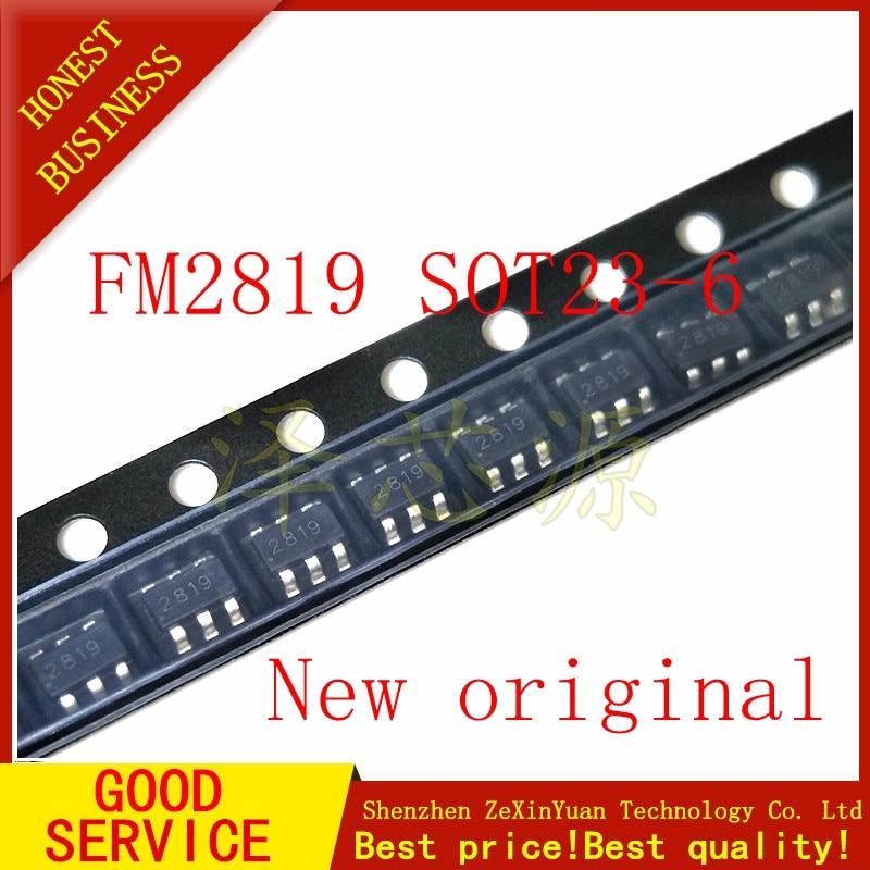 10PCS FM2819 2819 SOT23-6 original Novo