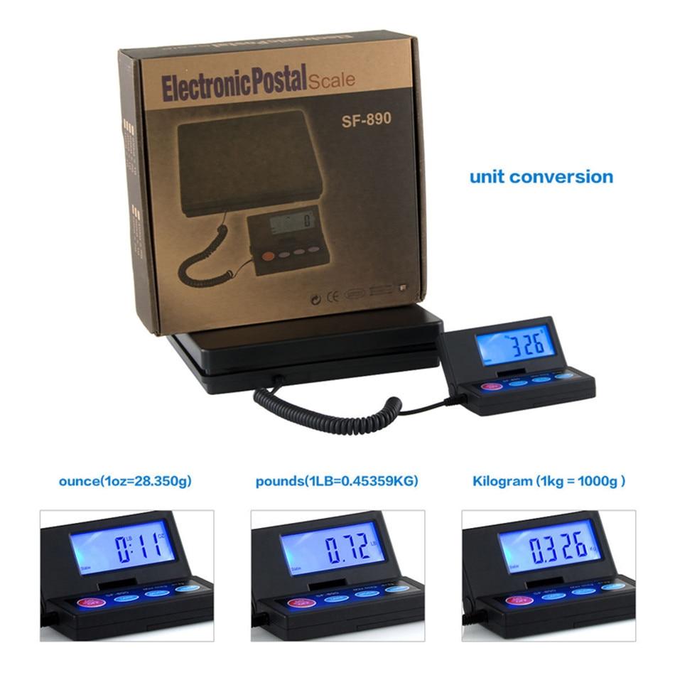 SF-890 correio pacote escala expresso 50kg precisão bagagem plataforma eletrônica correio