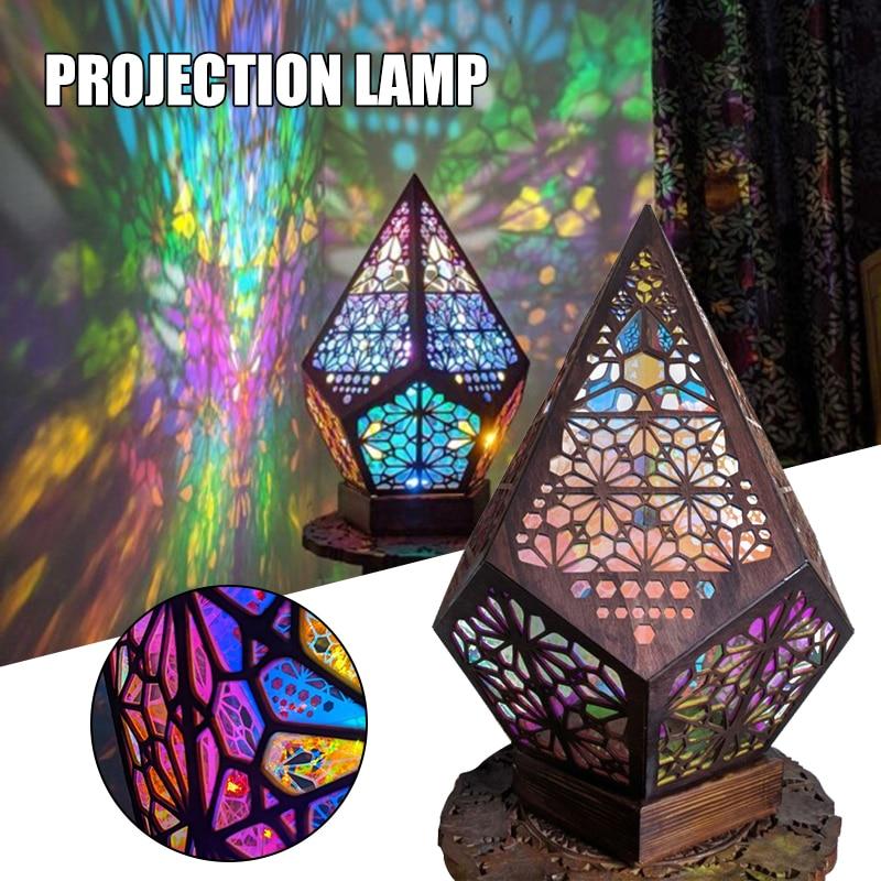 Напольная Лампа, светодиодная электрическая Полярная Звезда, богемный свет, лампа, праздничное украшение для вечеринки, декор для комнаты, ...