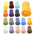 Baby Photography Props Blanket Rayon Wraps Stretch Knit Wrap Newborn Photo Wraps Hammock Swaddling Padding Nubble Wraps