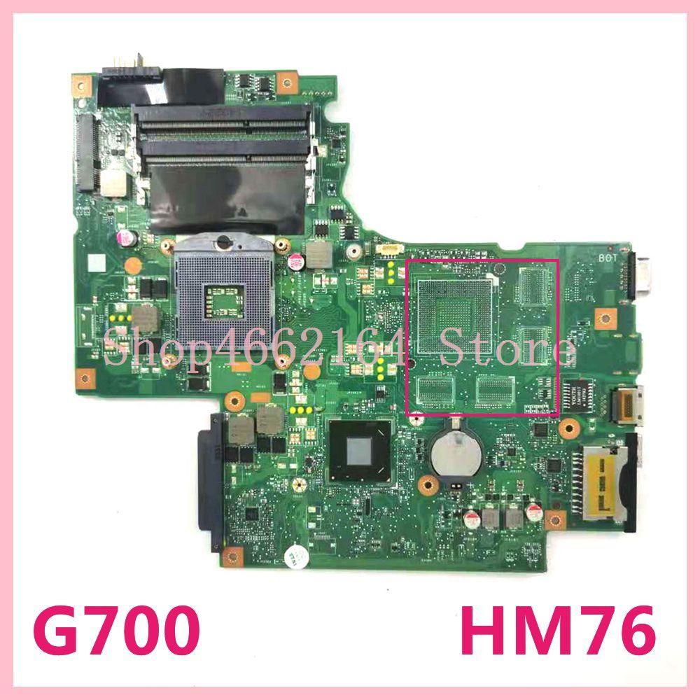 G700 اللوحة الرئيسية لينوفو G700 Z700 HM76 اللوحة الأم اختبار 100% OK