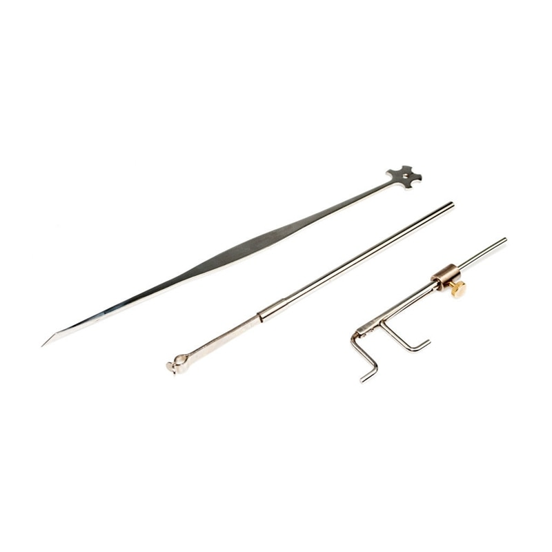 Violin Luthier Tools Sound Post Gauge Measurer Retriever Clip Set Violin Parts & Accessories Silvery