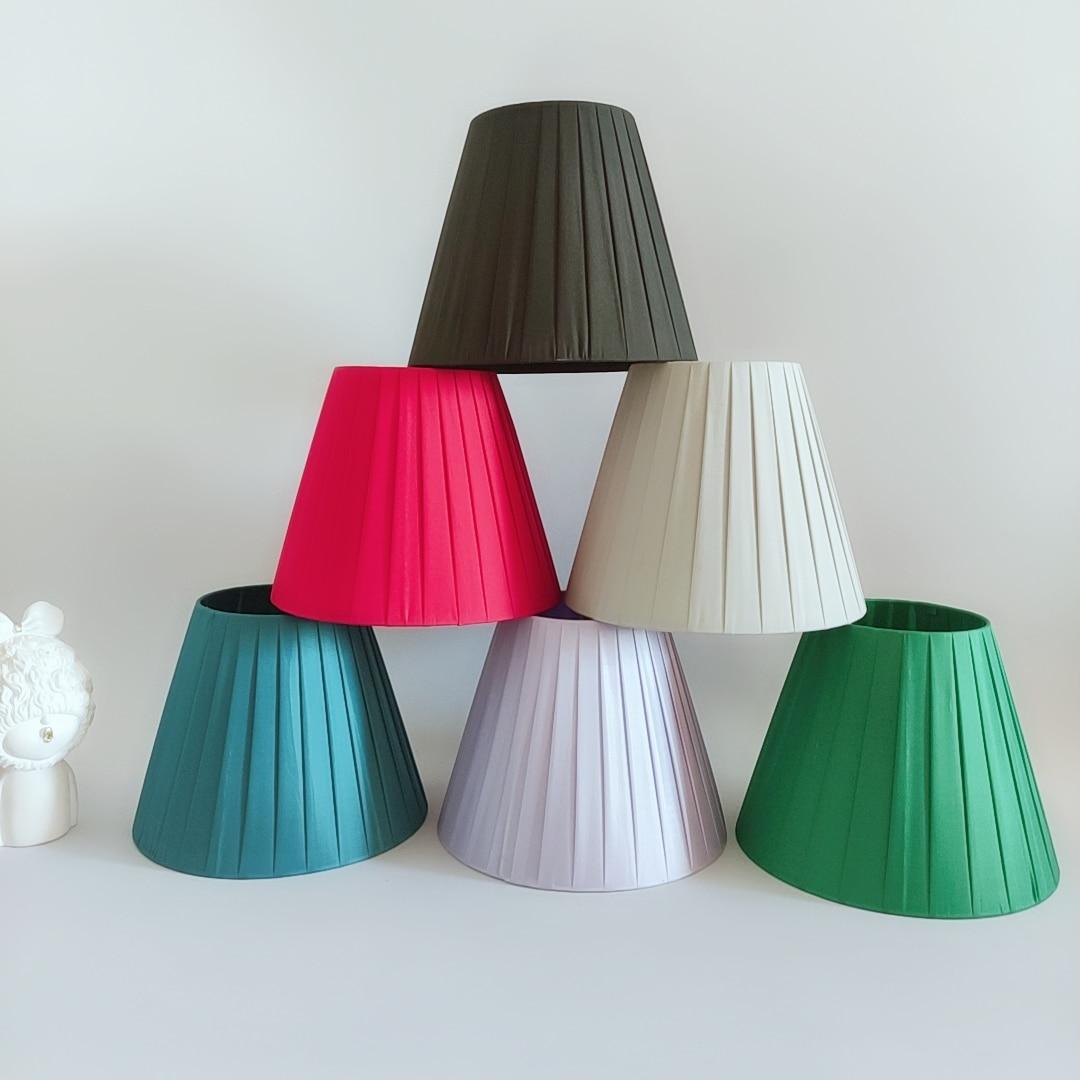 Xianfan-lámpara de mesa retro hecha a mano, tulipa, candelabro vintage, luz nocturna...