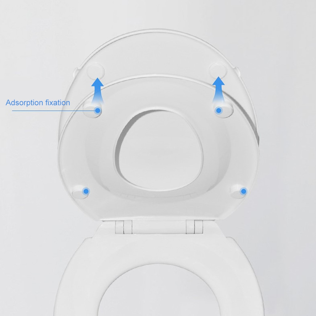2 in 1 Toilet Seat with Built-in Training Seat for Toddlers & Adults