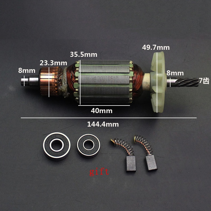 Le Stator dancrage de Rotor darmature de AC220-230V remplacent pour Hitachi DU10 DCA FF02-10A FF04-10A FF02-13