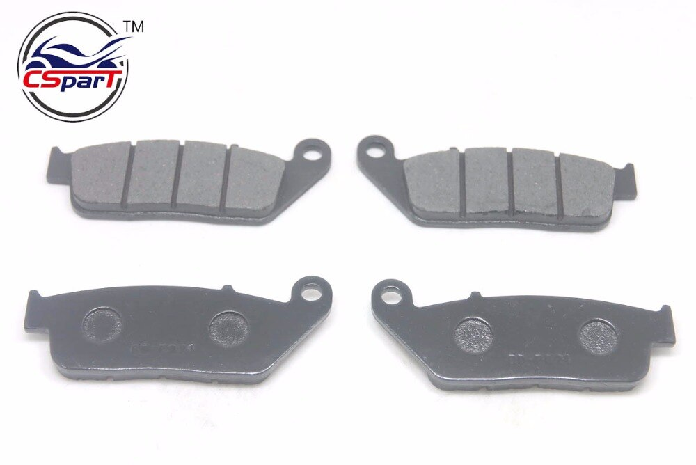 2 Pairs Brake Pads for non-asbestos BUELL Blast DAELIM Roadwin R 125 VT125 VS125 Daystar/125 L Evolution VJF125 VJ125 VL125 P02