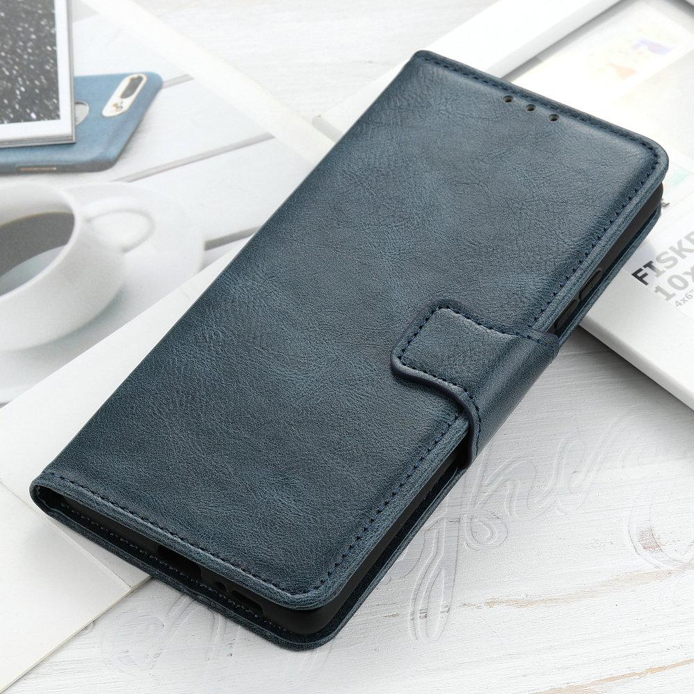 Realme X3 SuperZoom Flip Case Retro Wallet Plain Leather Phone Shell for OPPO Realme X3 Case Realme X 3 Super Zoom Cover Fundas