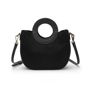 Original niche design handbag women commuting to work art simple fashion canvas bucket bag summer