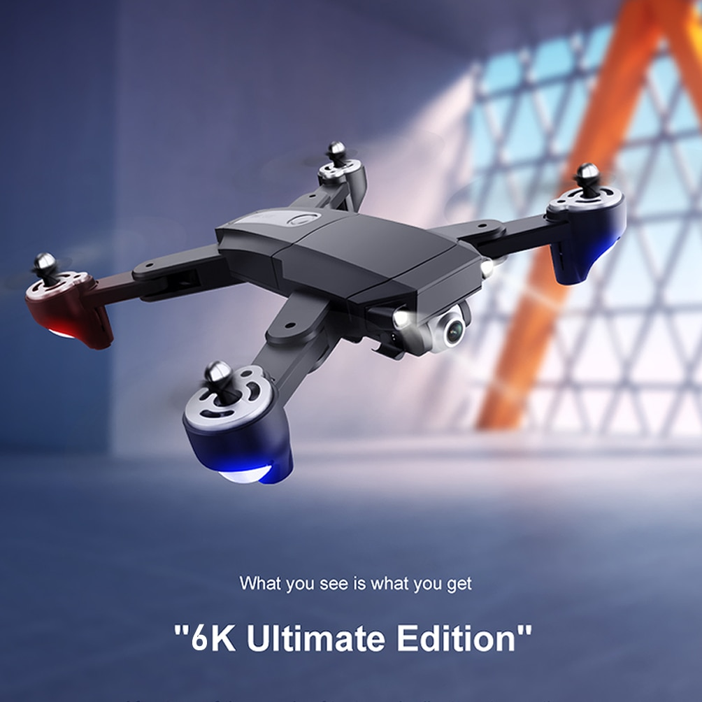 Professional GPS RC Drone with 6K HD Dual Camera Aerial Photography Quadcopter UAV Remote Control Brushless Motor Aircraft enlarge