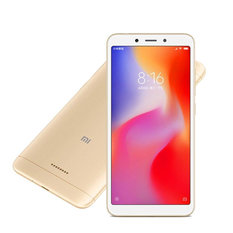 Xiaomi Redmi 6A 3GB 32GB Smartphone 5.45'' Full Screen AI Face Unlock