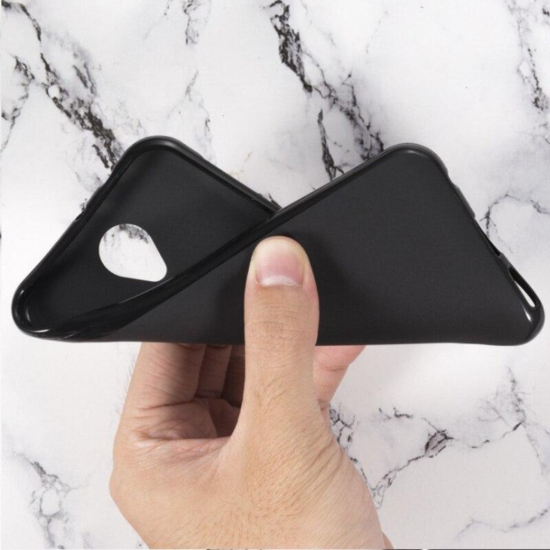 Fundas de silicona blanda para ZTE Blade A510 Z10 A520 A521 A512 A530 A6 Lite A601 A602 A606 TPU fundas de teléfono negro