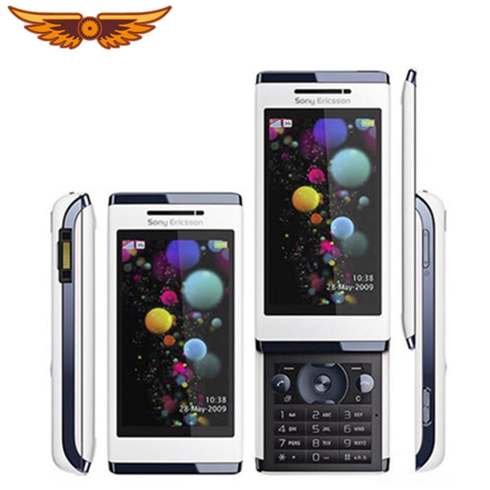 Original desbloqueado Sony Ericsson Aino U10 Singel Core 3,0 pulgadas 3G 8.1MP Cámara Bluetooth FM Radio restaurado teléfono móvil