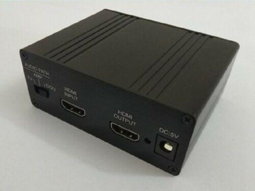 HDMI/MHL إلى IIS I2S HDMI IIS I2S ، مستخرج منفصل للصوت I2S/DSD/بصري/محوري مع علبة