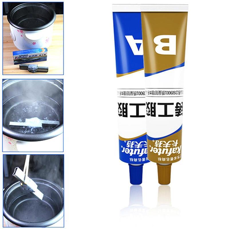 100g Kafuter Ab Caster pegamento Industrial agente de reparación fundición adhesivo de fundición de Metal de hierro fundido tracoma estomatal craqule reparación