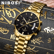 NIBOSI Men Watches Luxury Famous Top Brand Men's Fashion Casual Dress Watch Military Quartz Wristwat
